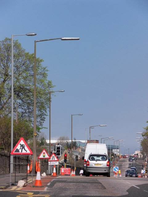 Street lighting replacement, Crewe Road South