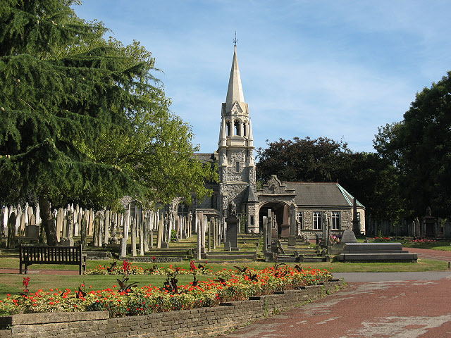 Plumstead cemetery with chapel