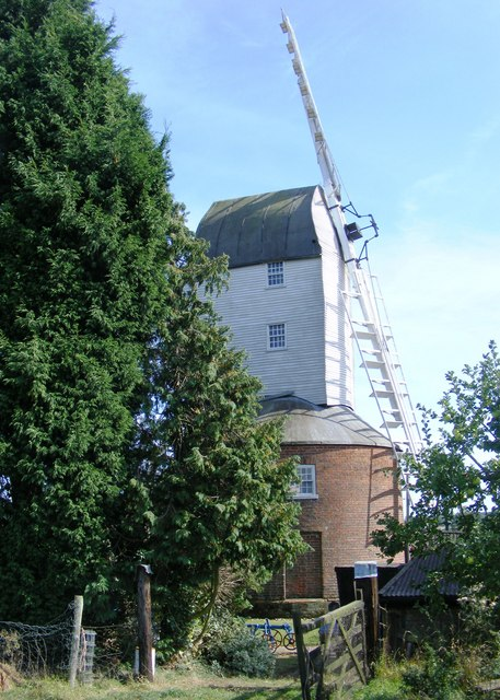 Framsden Post Mill