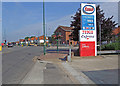 Dist:0.3km<br/>View from Tolworth Broadway at the junction with Warren Drive North.
