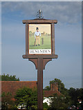 TQ8032 : Benenden Village Sign by Oast House Archive