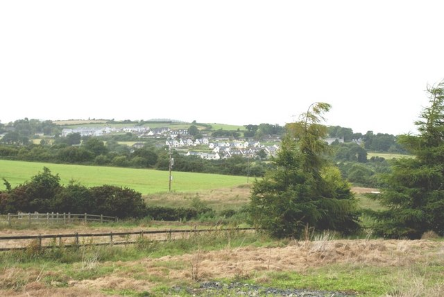 View across the fields towards Ballyhara