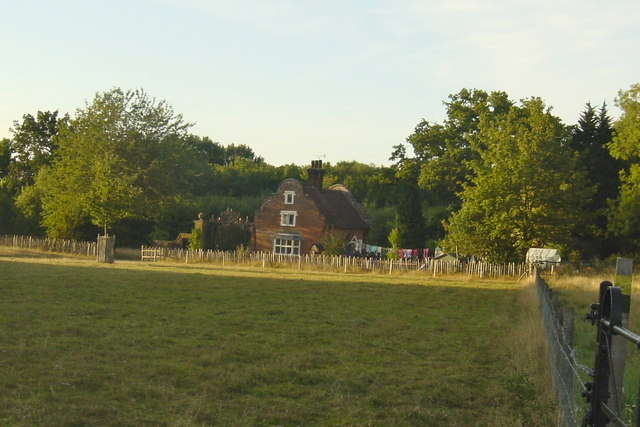 Lodge at Godinton House from Footpath