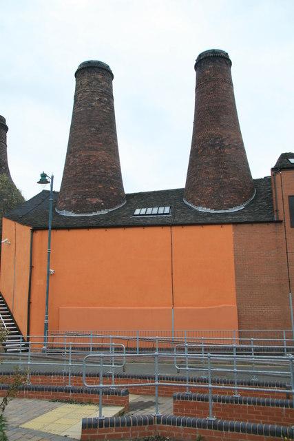 Rosslyn Works, Longton.