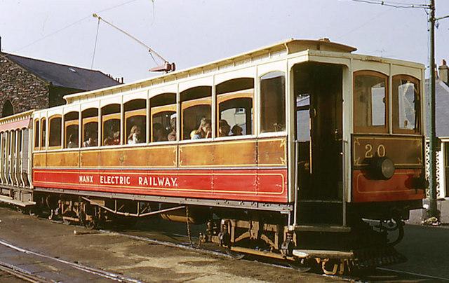 Manx Electric Railway Car 20