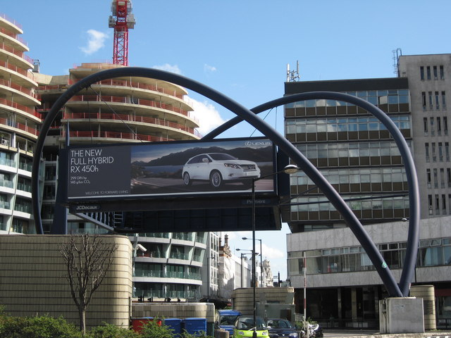 Old Street Roundabout, London