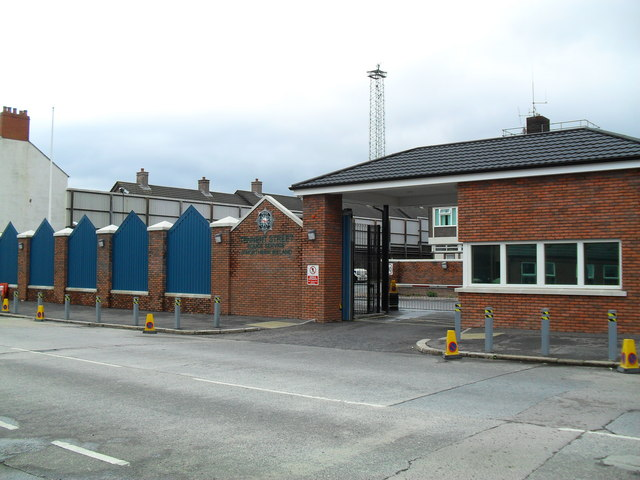 Tennent Street Police Station, Belfast