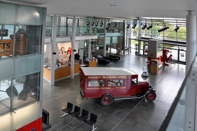 Foyer Wales Home : The foyer national waterfront museum � mick lobb cc
