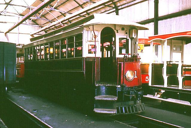 Manx Electris Railway, Car Number 1