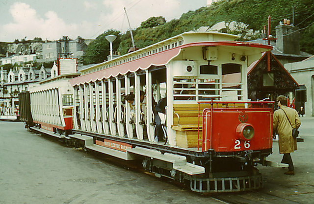 Manx Electric Railway, Derby Castle, Crossbench car 26