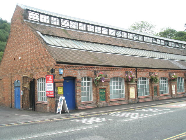 Converted factory building in Ironbridge