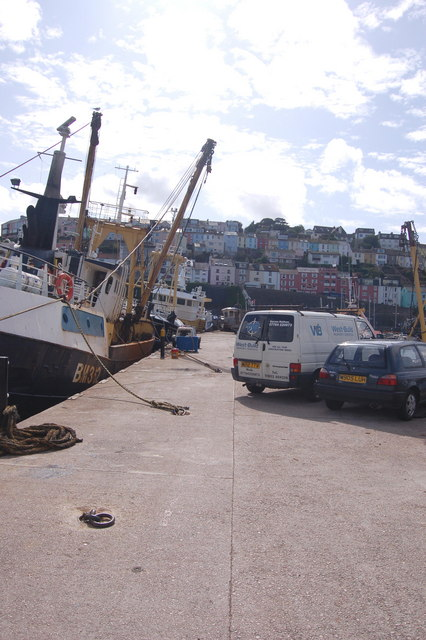 Central Jetty, Brixham harbour