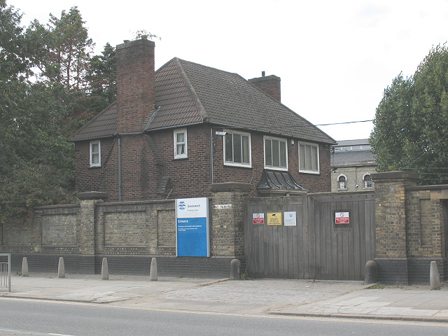 Deptford pumping station - site entrance