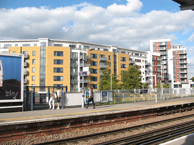Housing development on Tarves Way, Greenwich