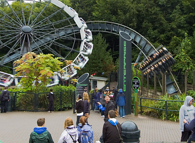 X-Sector, Alton Towers