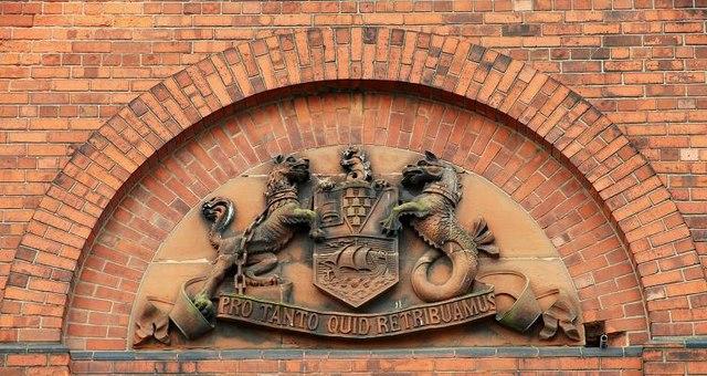 The Belfast Coat of Arms © Albert Bridge :: Geograph Ireland