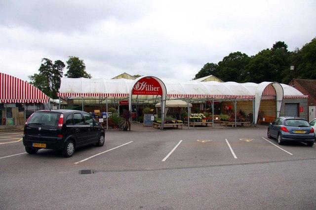 Hilliers Garden Centre Botley Cafe