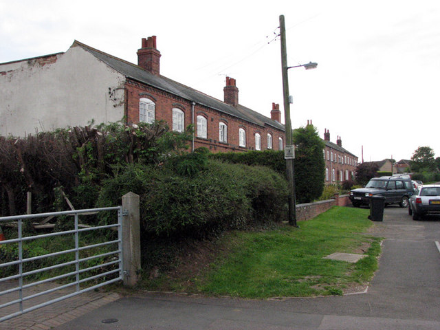 Market Overton: terraced houses built for ironstone workers