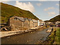 SX0991 : Boscastle: the youth hostel by Chris Downer