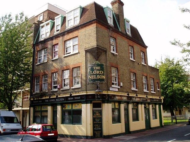 Tq3579 lord nelson pub