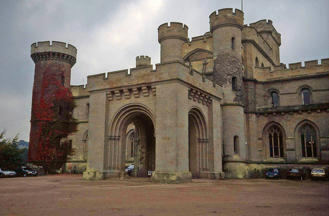Front Entrance To Eastnor Castle 169 Trevor Rickard