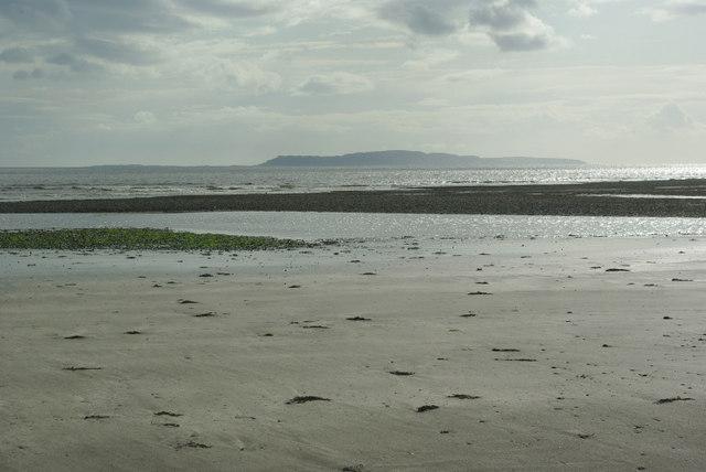View from Glen Brittle beach across Loch Brittle