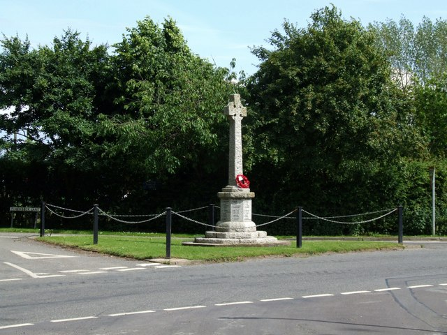War Memorial, Croft