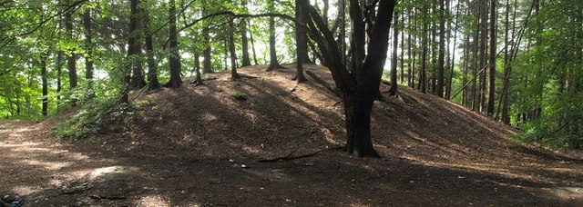 Mound beside the River Leven