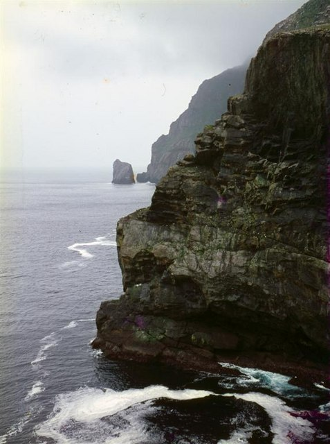 The cliffs of Mullach Mor