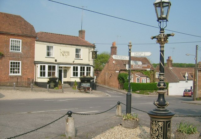 The Square (High St), Great Bedwyn