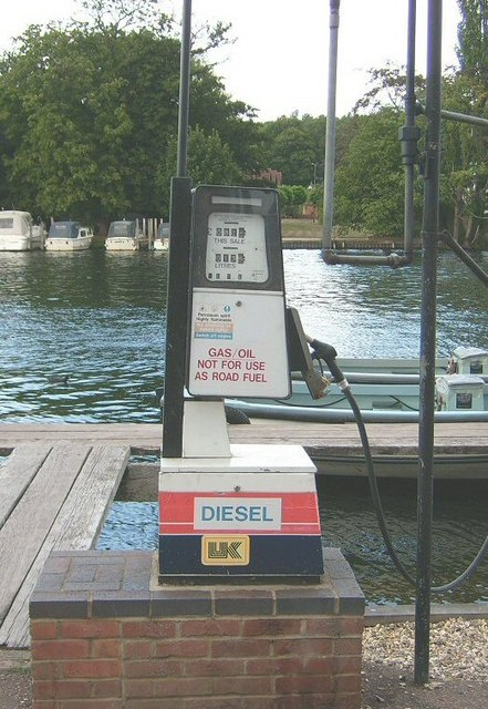 Rivercraft Fuel Pump, Henley On Thames