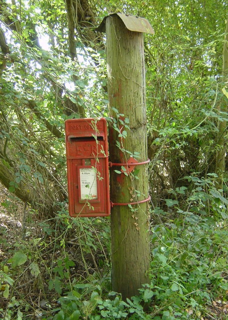 Sleeping Beauty's Post Box?