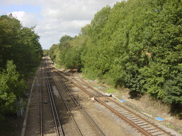 Railway with Siding