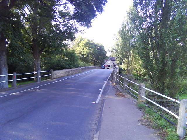Roadbridge Over River Ray, Islip