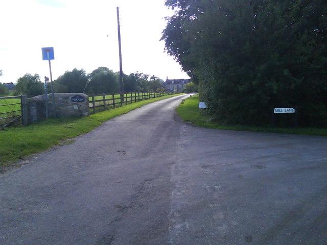 Mill Lane Farm (entrance of)