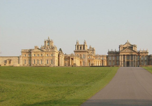 Blenheim Palace (half of)