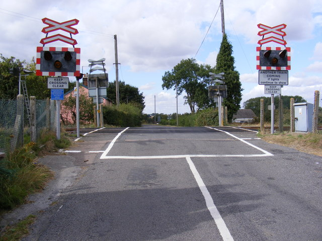 Mells Level Crossing