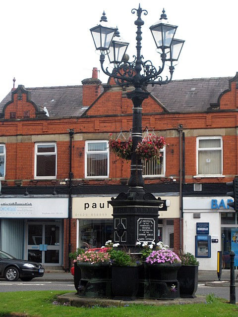 The Jubilee Fountain and Lamp Standard, Fountain Place