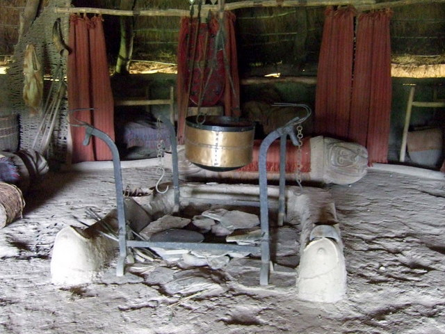Bed And Breakfast In The Iron Age 169 Ceridwen Geograph