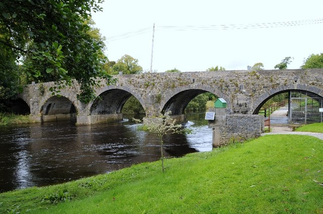 Bridge over River Moy at Banada
