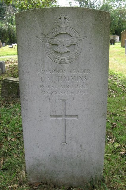 In Memory of Squadron Leader LLOYD MILLER TIMMINS