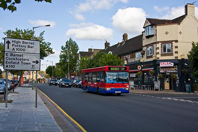 Great North Road, Barnet
