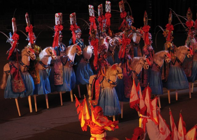 Chinese Performers, Edinburgh Military Tattoo, 2009