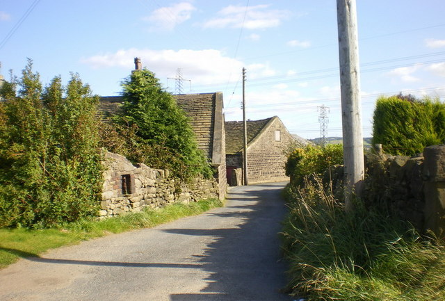 Scholes Lane at Upper Scholes Farm