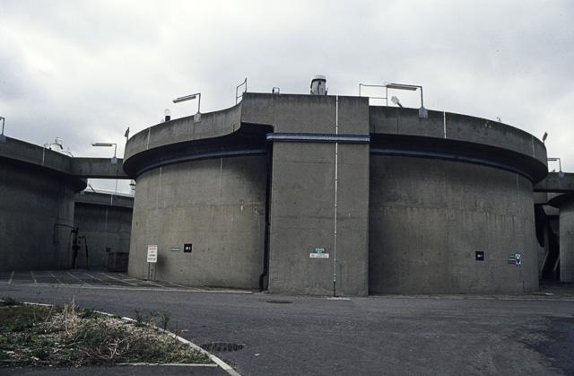 Beckton Stp  Sludge Digestion Tank  U00a9 John Rostron