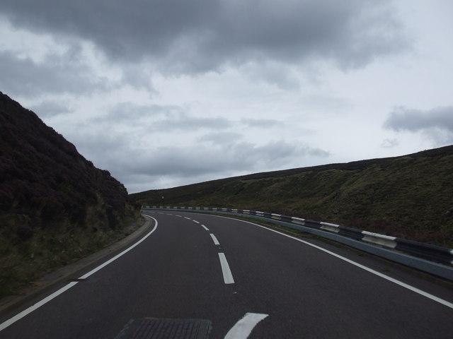 Snake Road at Holden Clough