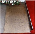 TL4882 : St Peter ad Vincula, Coveney - Ledger slab by John Salmon