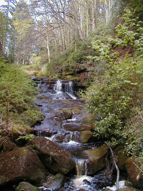 Cragside waterfall