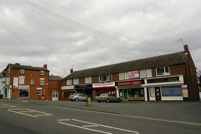 Shops, Studley