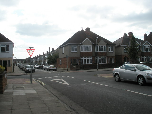 Junction of Kirby Road and Randolph Road